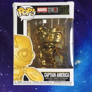 NEW! Captain America Special Editiin POP!